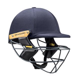 Masuri E LINE Cricket Helmet STEEL Gri