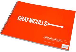 Gray Nicolls 112 Innings Scorebook