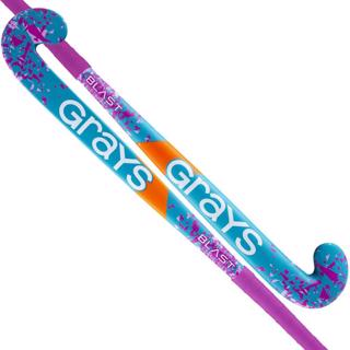 Grays BLAST Wooden Hockey Stick PINK/TEA