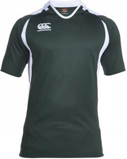 Canterbury Challenge Rugby Shirt, GREEN/
