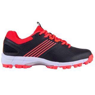 Grays Flash Hockey Shoe BLACK/HOT RED