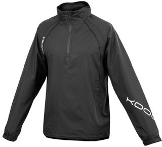 Kooga Elite 1/4 Zip Jacket BLACK JUNIO