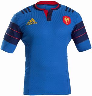 adidas France 14/15 HOME Rugby Jersey