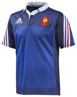 adidas France Home Rugby Jersey