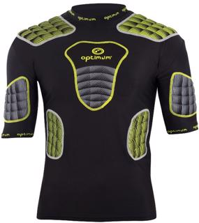 Optimum Atomik Rugby Protection YELLOW/GRE
