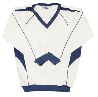 Morrant Cream/Navy Cricket Sweater JUNIOR