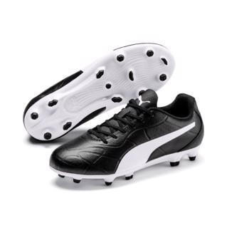 Puma MONARCH FG Football Boots BLACK/WHI