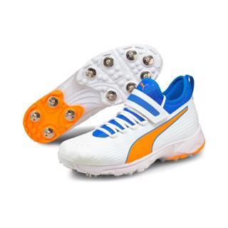 Puma 19.1 Cricket Bowling Shoe BLUE/ORAN