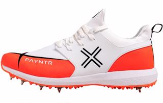 Payntr X MK3 Spike Cricket Shoes ORANG