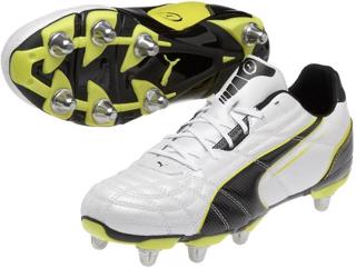 Puma Universal H8 Rugby Boots WHITE