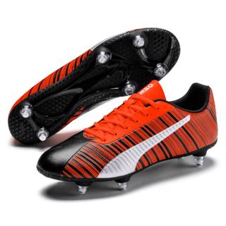 Puma ONE 5.4 SG Football Boots BLACK/R