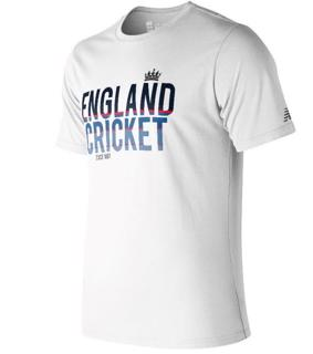 New Balance ECB Graphic Tee 2 WHITE
