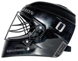 Gryphon Sentinel Chrome Hockey Helmet