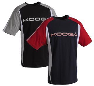 Kooga Contrast Panel T-Shirt
