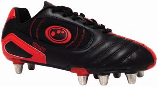 Optimum Velocity Rugby Boot BLACK/RED