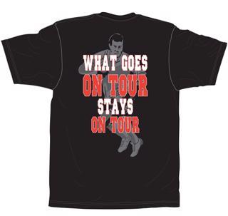 No Pushover Rugby Tour T-Shirt
