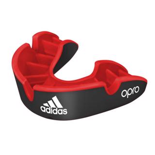 adidas OPRO Silver Mouthguard BLACK, J
