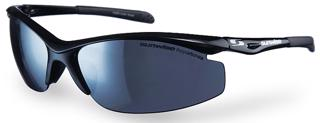 Sunwise Peak MK1 BLACK Sports Sunglasses