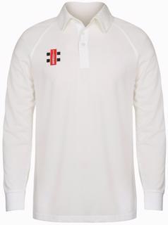 Gray Nicolls Matrix Cricket Shirt LONG%2