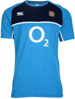 Canterbury England Rugby Poly Training T