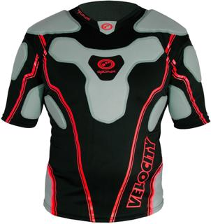 Optimum Velocity Rugby Protective Top BL