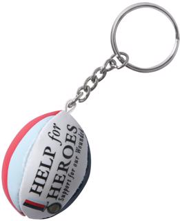Gilbert Help For Heroes Rugby Ball Key