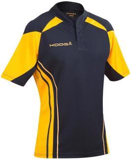 Kooga Stadium Match Rugby Shirt BLACK/GO