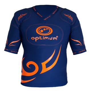 Optimum NAVY Tribal Five Pad Rugby Pro
