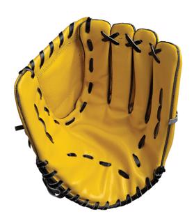 Hunts County Leather Baseball Catching M