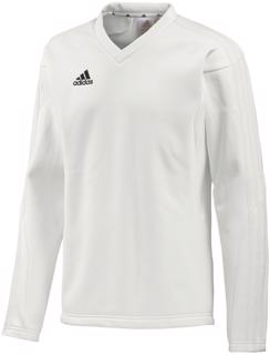 adidas Long Sleeve Cricket Sweater