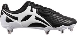 Gilbert SPRINT 8S Rugby Boot BLACK