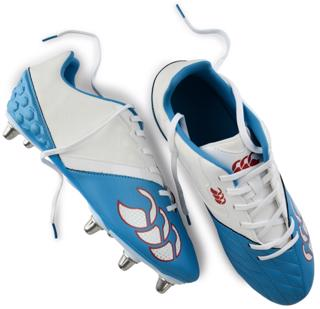 Canterbury Phoenix CLUB Rugby Boots WHIT