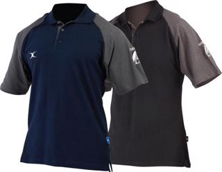 Gilbert Rugby Dragon Polo Shirt
