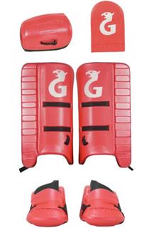 Gryphon S2 Hockey GK Set RED