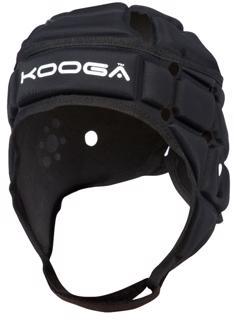 Kooga Combat Rugby Headguard BLACK JUNIO