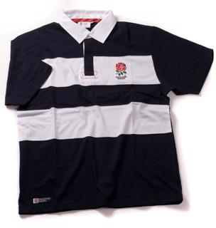 England Rugby Twin Stripe Rugby Jersey