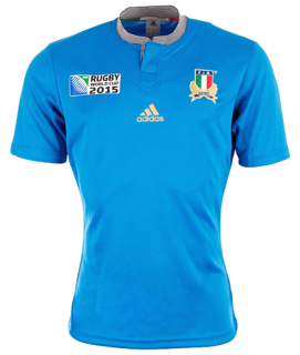 adidas Italy RWC 2015 Home Rugby Jerse