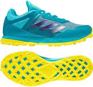 adidas Fabela Zone Hockey Shoes AQUA