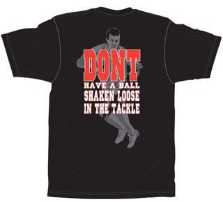 No Pushover Rugby Shaken T-Shirt