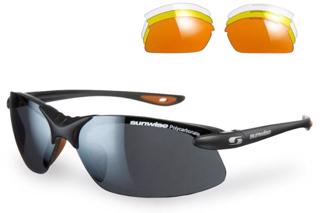 Sunwise Windrush BLACK/ORANGE Sunglasses