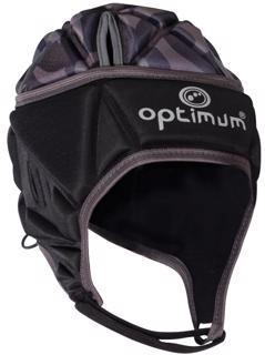 Optimum Razor Rugby Headguard BLACK/SILVER