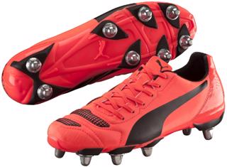 Puma EvoPOWER 4.2 H8 Rugby Boots LAVA
