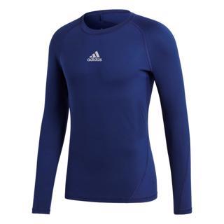 adidas Alphaskin Sport LS Tee DARK BLU