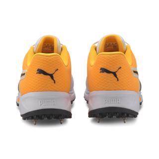 Puma 19.2 Cricket Spike Shoe WHITE/ORANG