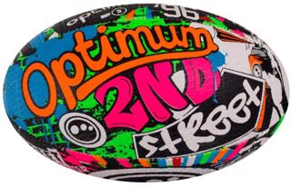 Optimum 2nd Street Rugby Ball