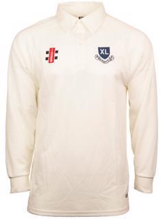 XL CLUB GN Matrix L/S Cricket Shirt