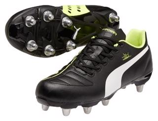 Puma EvoPOWER 4 H8 Rugby Boots BLACK