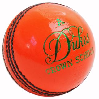 Dukes Crown School Cricket Ball, ORANG