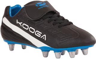 Kooga Blitz Rugby Boot BLACK/BLUE