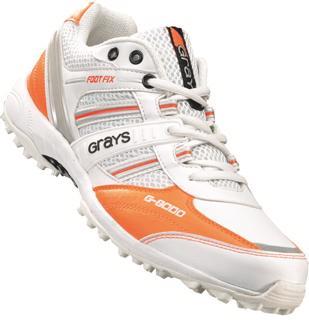 Grays G8000 Hockey Shoe WHITE